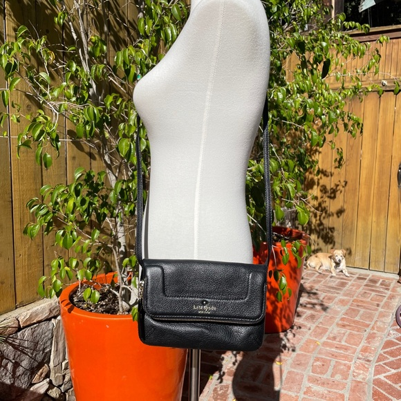 Kate Spade Leather Foldover Crossbody Bag